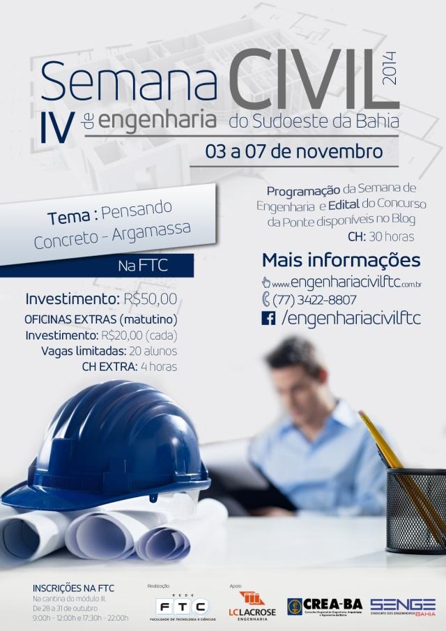Cartaz - IV Semana de Engenharia