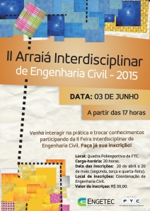 Arraiá Interdisciplinar (03-06)