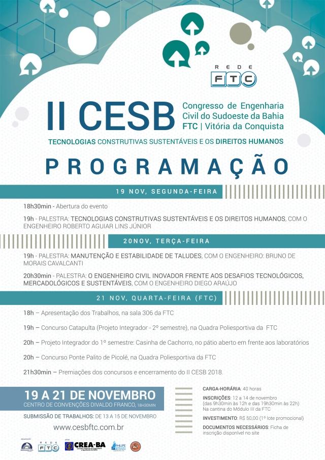 II CESB - Programação