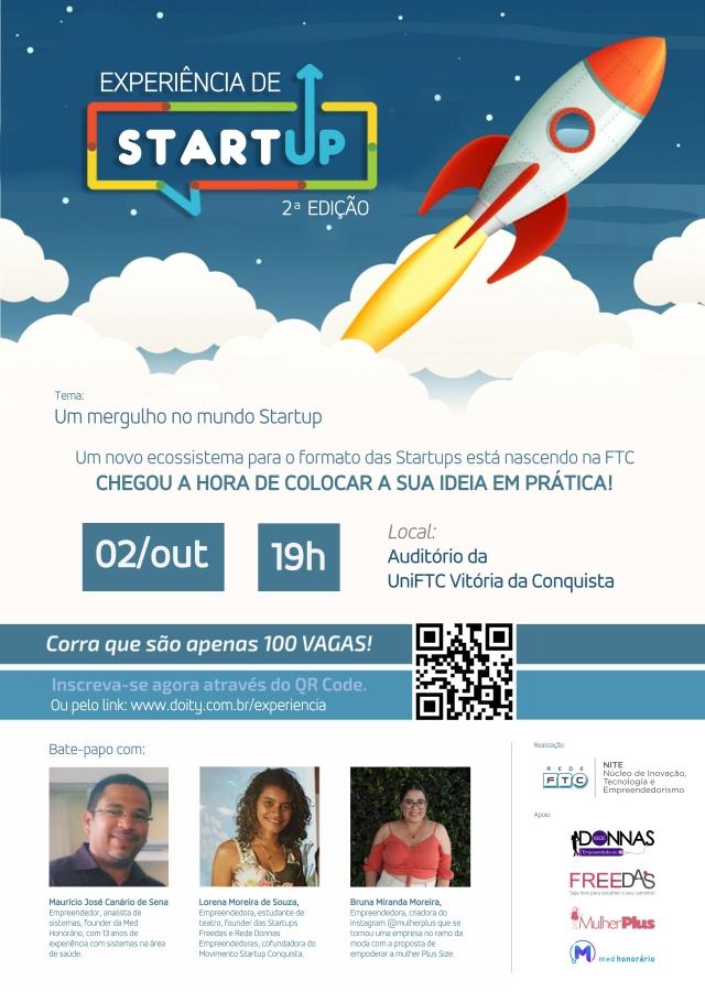 II Experiência de Startup