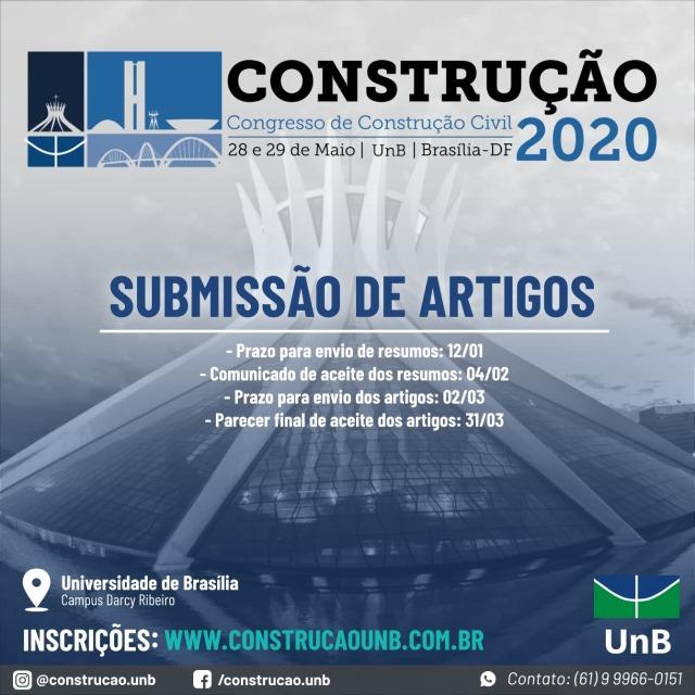 CONGRESSO CONSTRUÇÃO 2020