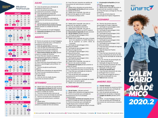 CALENDÁRIO ACADÊMICO UNIFTC_2311